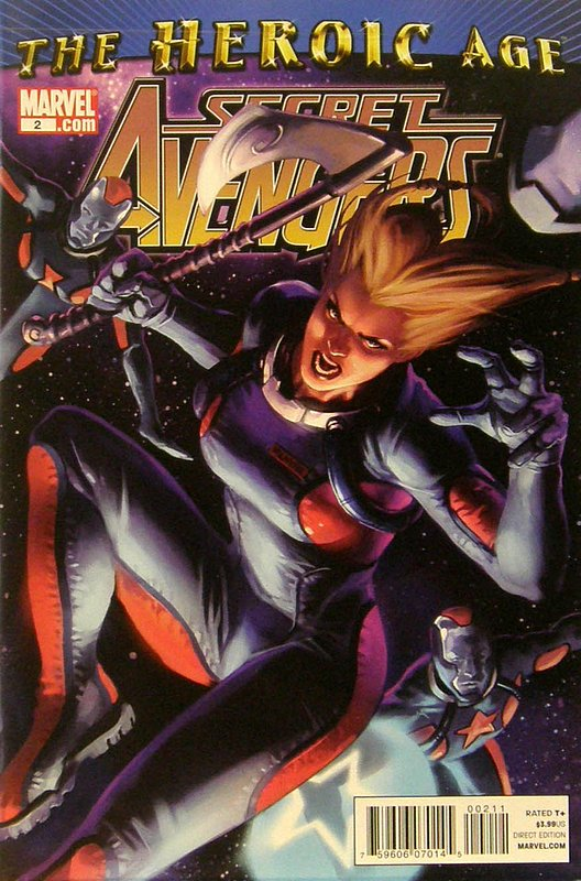 Cover of Secret Avengers (Vol 1) #2. One of 250,000 Vintage American Comics on sale from Krypton!