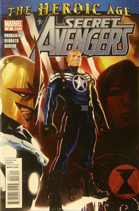 Cover of Secret Avengers (Vol 1) #3. One of 250,000 Vintage American Comics on sale from Krypton!