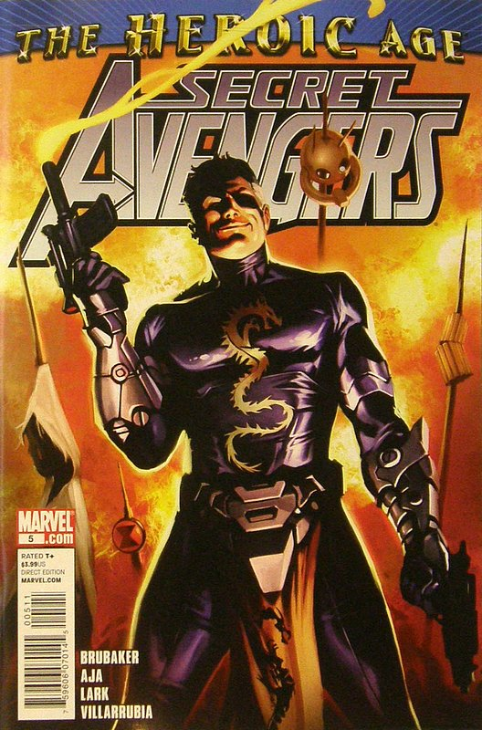 Cover of Secret Avengers (Vol 1) #5. One of 250,000 Vintage American Comics on sale from Krypton!