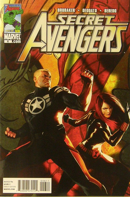 Cover of Secret Avengers (Vol 1) #6. One of 250,000 Vintage American Comics on sale from Krypton!