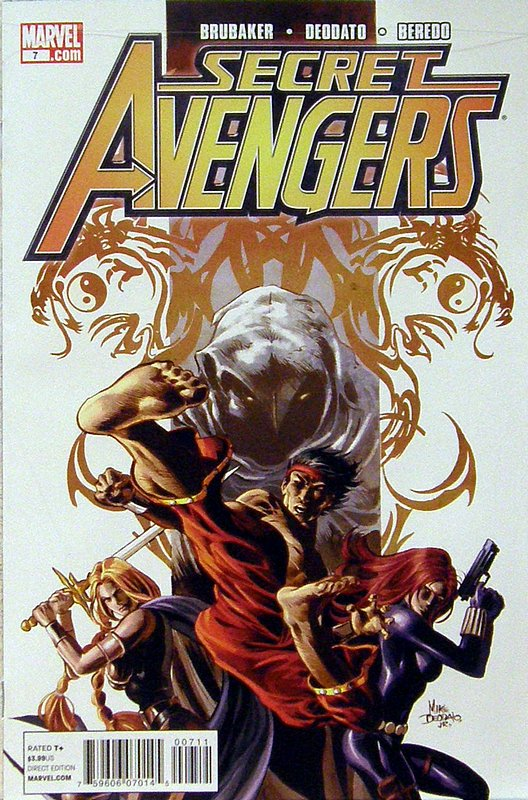 Cover of Secret Avengers (Vol 1) #7. One of 250,000 Vintage American Comics on sale from Krypton!