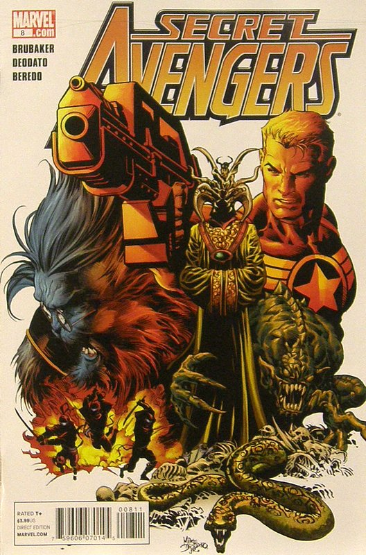 Cover of Secret Avengers (Vol 1) #8. One of 250,000 Vintage American Comics on sale from Krypton!