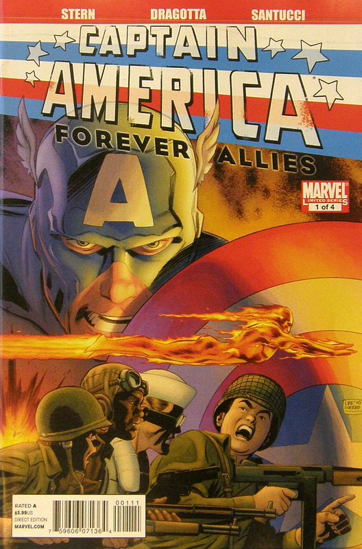 Cover of Captain America: Forever Allies (2010 Ltd) #1. One of 250,000 Vintage American Comics on sale from Krypton!
