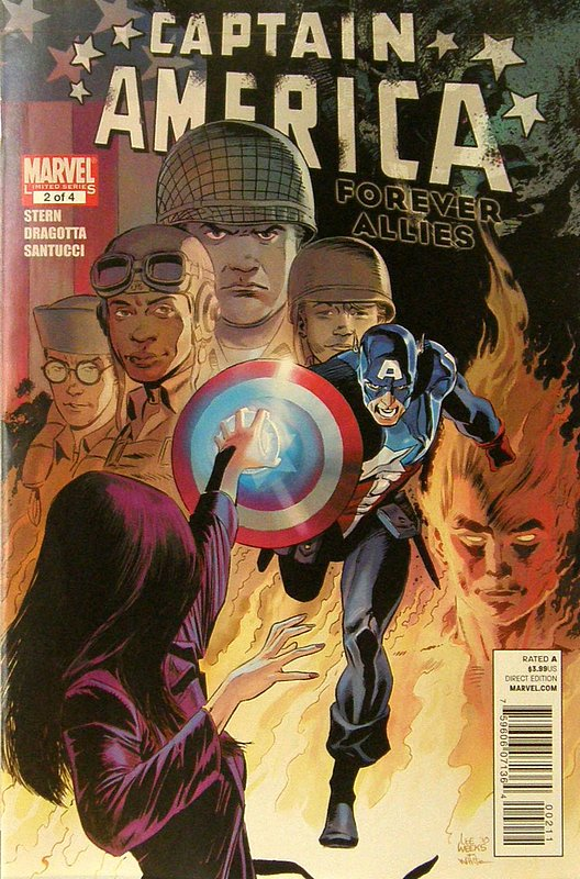 Cover of Captain America: Forever Allies (2010 Ltd) #2. One of 250,000 Vintage American Comics on sale from Krypton!