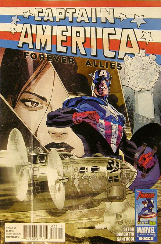 Cover of Captain America: Forever Allies (2010 Ltd) #3. One of 250,000 Vintage American Comics on sale from Krypton!