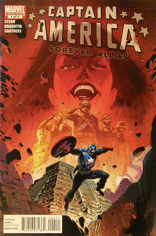 Cover of Captain America: Forever Allies (2010 Ltd) #4. One of 250,000 Vintage American Comics on sale from Krypton!