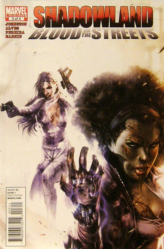 Cover of Shadowland: Blood on the Streets (2010 Ltd) #3. One of 250,000 Vintage American Comics on sale from Krypton!