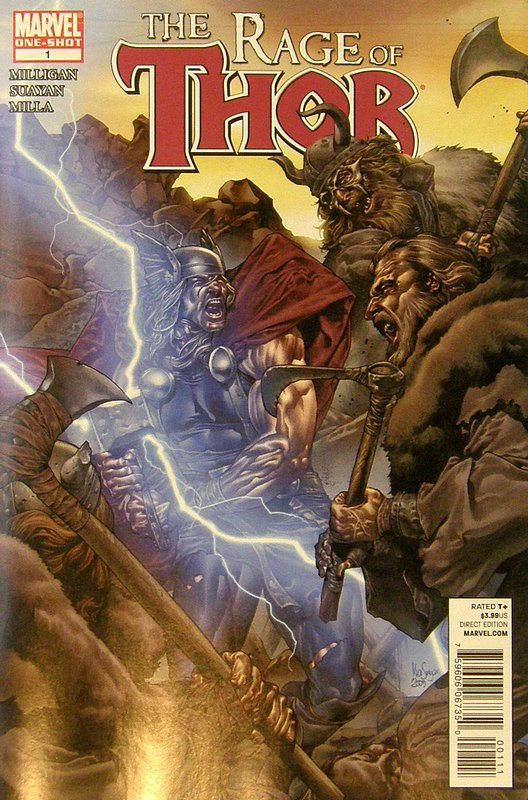 Cover of Thor: Rage of Thor (2010 One Shot) #1. One of 250,000 Vintage American Comics on sale from Krypton!
