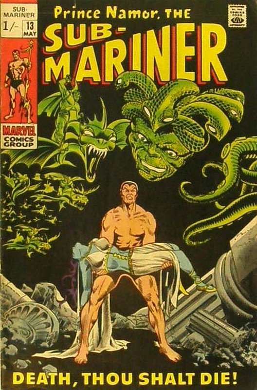 Cover of Sub-Mariner (Vol 1) #13. One of 250,000 Vintage American Comics on sale from Krypton!
