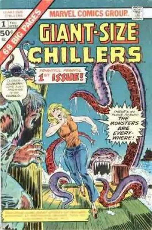 Cover of Giant-Size Chillers (Vol 1) #1. One of 250,000 Vintage American Comics on sale from Krypton!