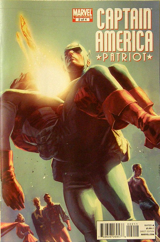 Cover of Captain America: Patriot (2010 Ltd) #2. One of 250,000 Vintage American Comics on sale from Krypton!