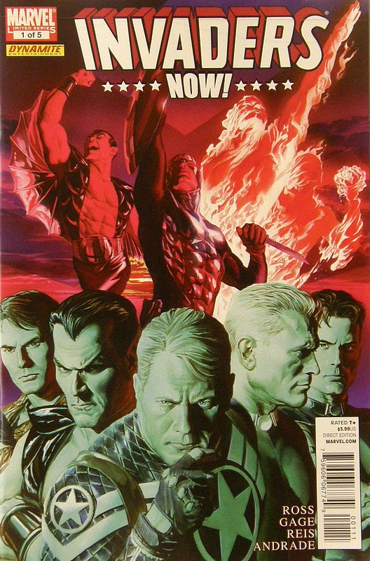Cover of Invaders Now (2010 Ltd) #1. One of 250,000 Vintage American Comics on sale from Krypton!