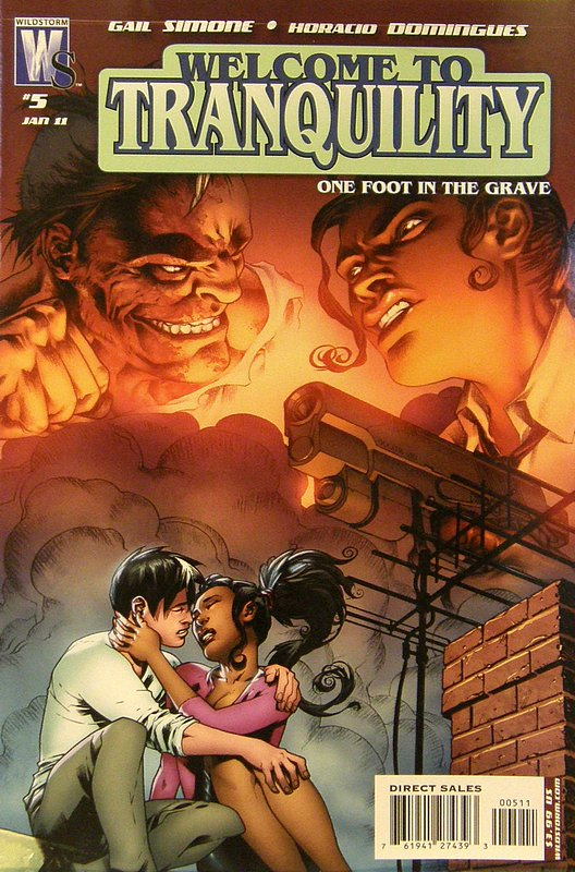 Cover of Welcome to Tranquility: One Foot in the Grave #5. One of 250,000 Vintage American Comics on sale from Krypton!