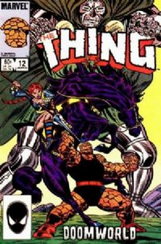 Cover of Thing (Vol 1) #12. One of 250,000 Vintage American Comics on sale from Krypton!
