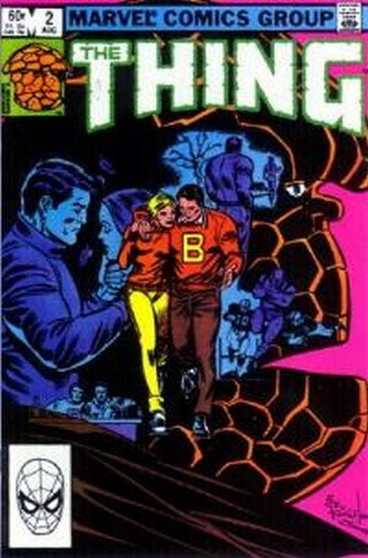 Cover of Thing (Vol 1) #2. One of 250,000 Vintage American Comics on sale from Krypton!