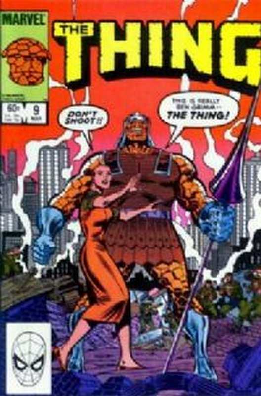 Cover of Thing (Vol 1) #9. One of 250,000 Vintage American Comics on sale from Krypton!