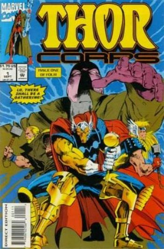 Cover of Thor Corps (1993 Ltd) #1. One of 250,000 Vintage American Comics on sale from Krypton!