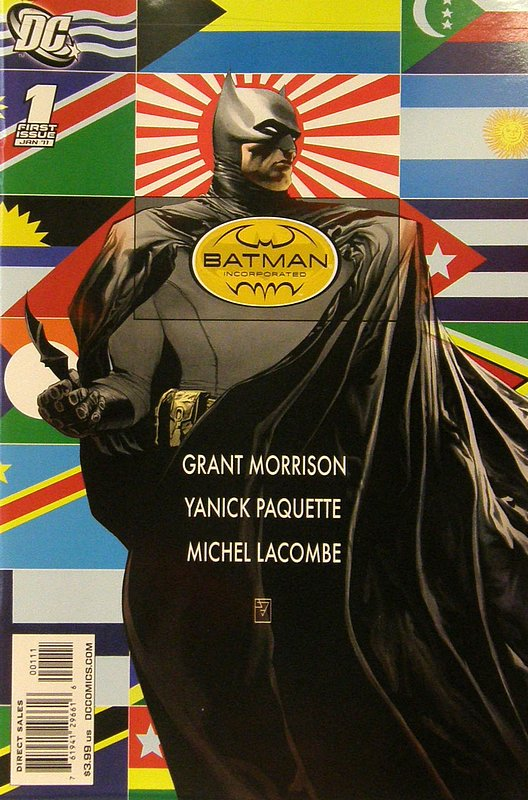 Cover of Batman Inc. (Vol 1) #1. One of 250,000 Vintage American Comics on sale from Krypton!