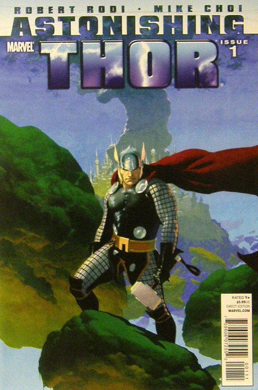 Cover of Astonishing Thor (2010 Ltd) #1. One of 250,000 Vintage American Comics on sale from Krypton!
