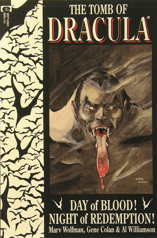 Cover of Tomb of Dracula: Day of Blood Night of Redemption #1. One of 250,000 Vintage American Comics on sale from Krypton!