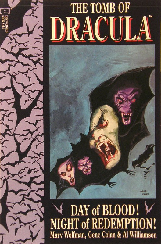 Cover of Tomb of Dracula: Day of Blood Night of Redemption #2. One of 250,000 Vintage American Comics on sale from Krypton!