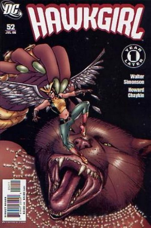 Cover of Hawkgirl (Vol 1) #52. One of 250,000 Vintage American Comics on sale from Krypton!