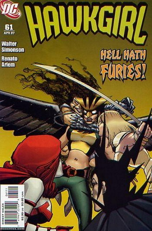 Cover of Hawkgirl (Vol 1) #61. One of 250,000 Vintage American Comics on sale from Krypton!