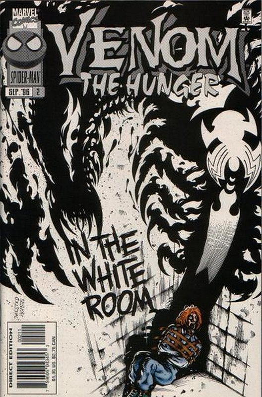 Cover of Venom: Hunger (1996 Ltd) The #2. One of 250,000 Vintage American Comics on sale from Krypton!