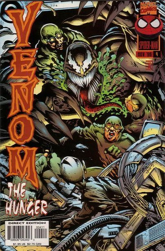 Cover of Venom: Hunger (1996 Ltd) The #4. One of 250,000 Vintage American Comics on sale from Krypton!