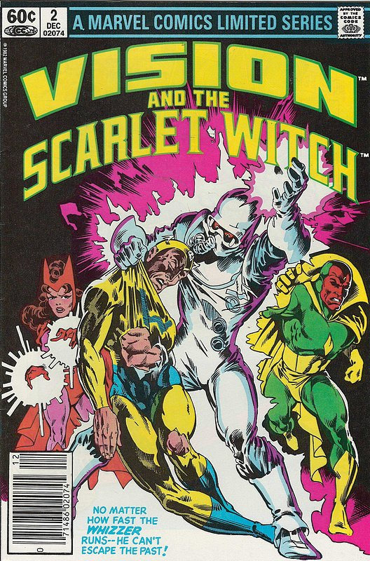 Cover of Vision & Scarlet Witch  (1982 Ltd) #2. One of 250,000 Vintage American Comics on sale from Krypton!