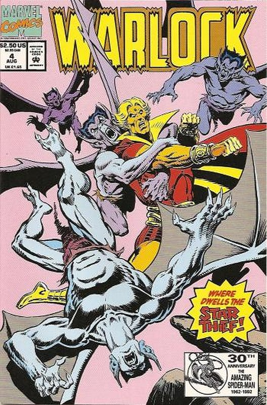 Cover of Warlock (1992 Ltd) #4. One of 250,000 Vintage American Comics on sale from Krypton!