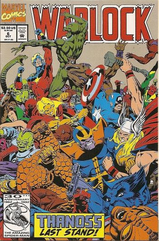 Cover of Warlock (1992 Ltd) #6. One of 250,000 Vintage American Comics on sale from Krypton!
