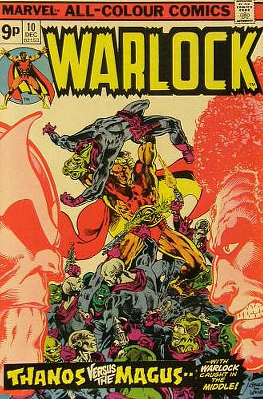 Cover of Warlock (Vol 1) The Power of #10. One of 250,000 Vintage American Comics on sale from Krypton!
