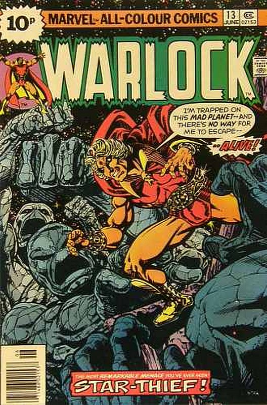Cover of Warlock (Vol 1) The Power of #13. One of 250,000 Vintage American Comics on sale from Krypton!