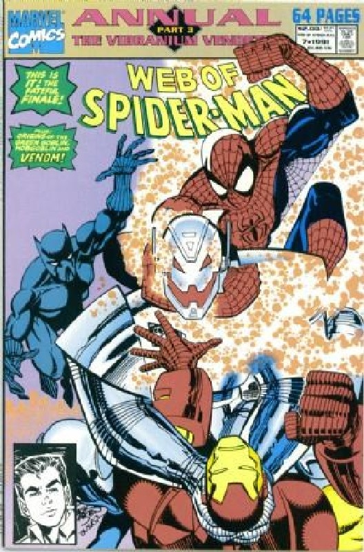 Cover of Web of Spider-Man Annual (Vol 1) #7. One of 250,000 Vintage American Comics on sale from Krypton!