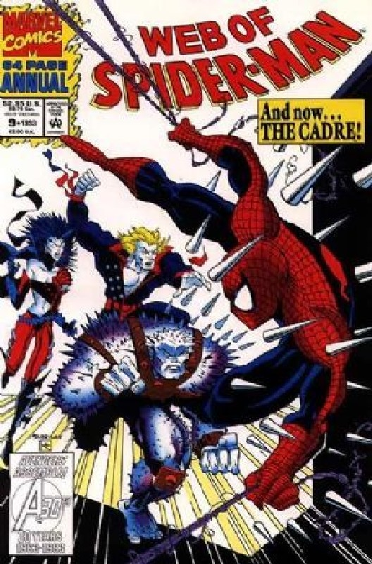 Cover of Web of Spider-Man Annual (Vol 1) #9. One of 250,000 Vintage American Comics on sale from Krypton!