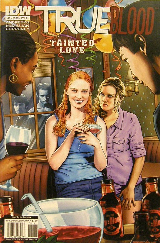 Cover of True Blood: Tainted (Vol 1) #1. One of 250,000 Vintage American Comics on sale from Krypton!