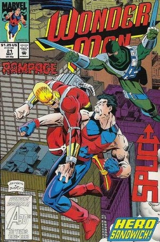 Cover of Wonder Man (Vol 1) #21. One of 250,000 Vintage American Comics on sale from Krypton!