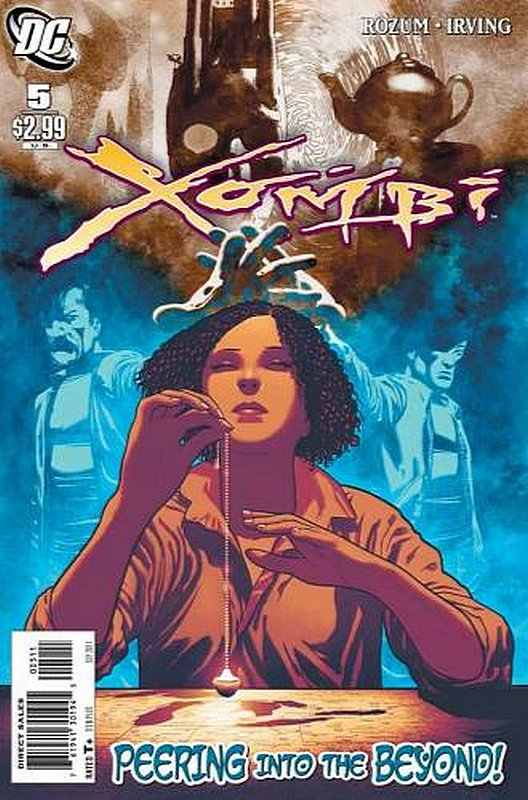 Cover of Xombi (Vol 2) #5. One of 250,000 Vintage American Comics on sale from Krypton!