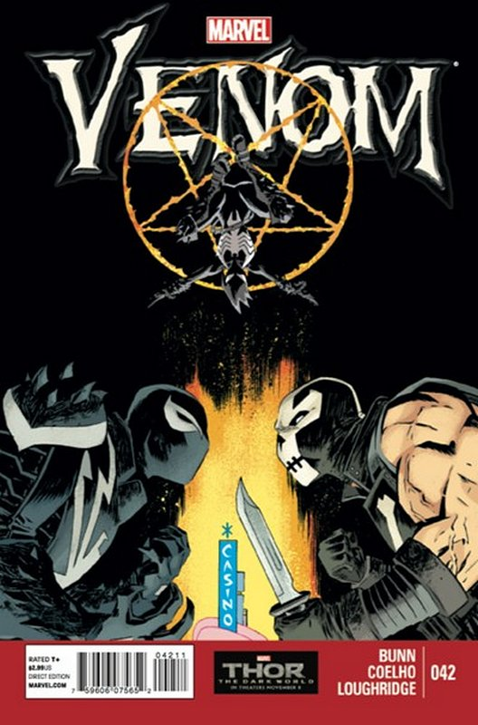 Cover of Venom (Vol 2) #42. One of 250,000 Vintage American Comics on sale from Krypton!