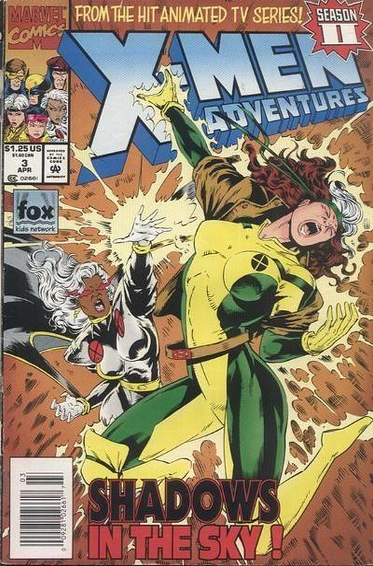 Cover of X-Men Adventures - (Season 2) #3. One of 250,000 Vintage American Comics on sale from Krypton!
