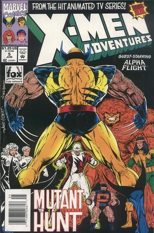 Cover of X-Men Adventures - (Season 2) #5. One of 250,000 Vintage American Comics on sale from Krypton!