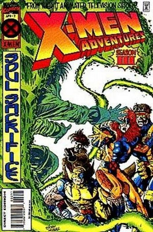 Cover of X-Men Adventures - (Season 3) #2. One of 250,000 Vintage American Comics on sale from Krypton!