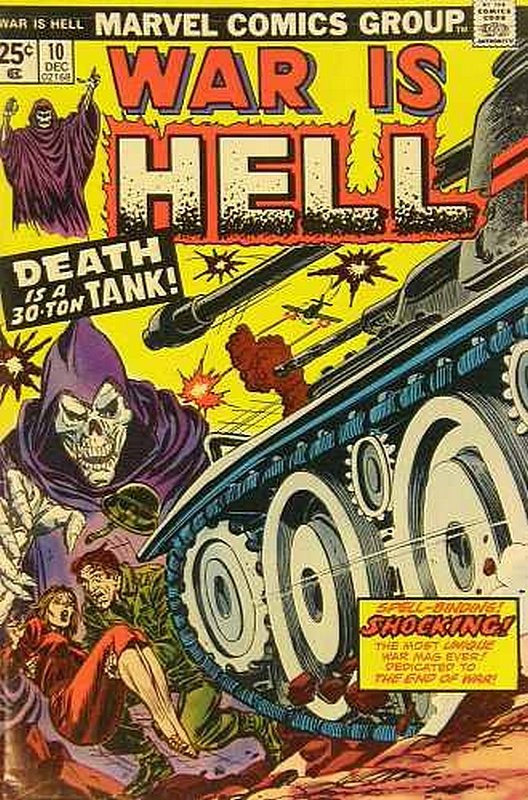 Cover of War is Hell (Vol 1) #10. One of 250,000 Vintage American Comics on sale from Krypton!