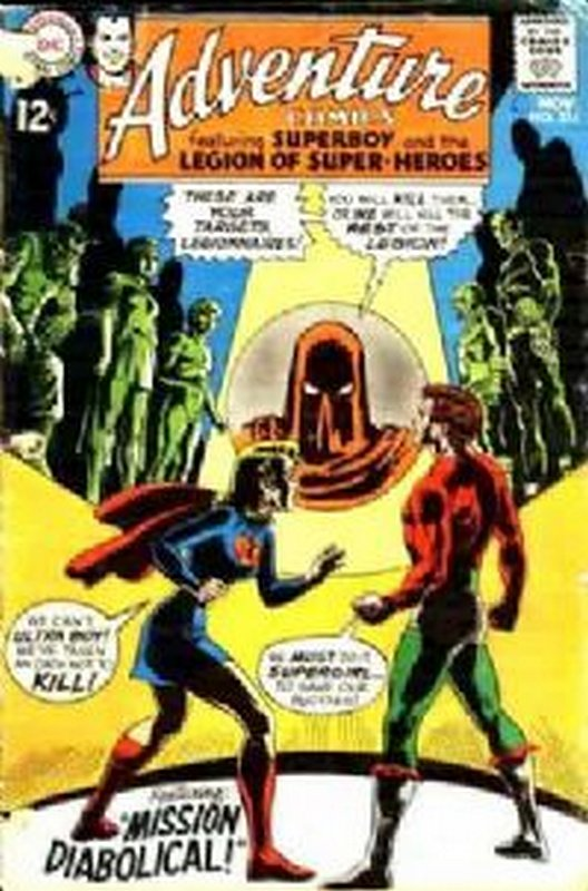 Cover of Adventure Comics (Vol 1) #374. One of 250,000 Vintage American Comics on sale from Krypton!