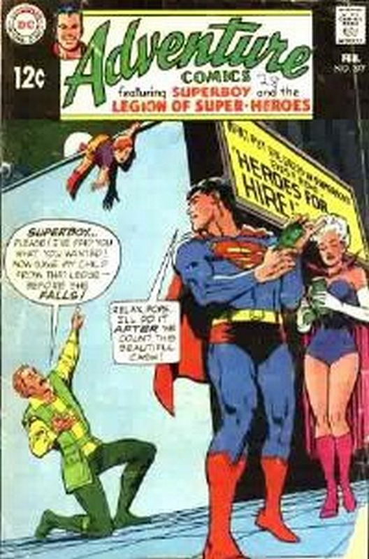 Cover of Adventure Comics (Vol 1) #377. One of 250,000 Vintage American Comics on sale from Krypton!