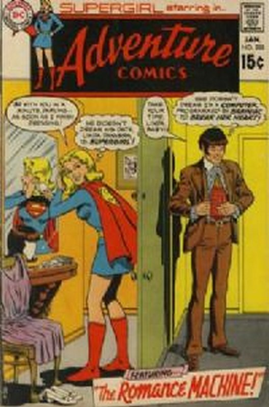 Cover of Adventure Comics (Vol 1) #388. One of 250,000 Vintage American Comics on sale from Krypton!