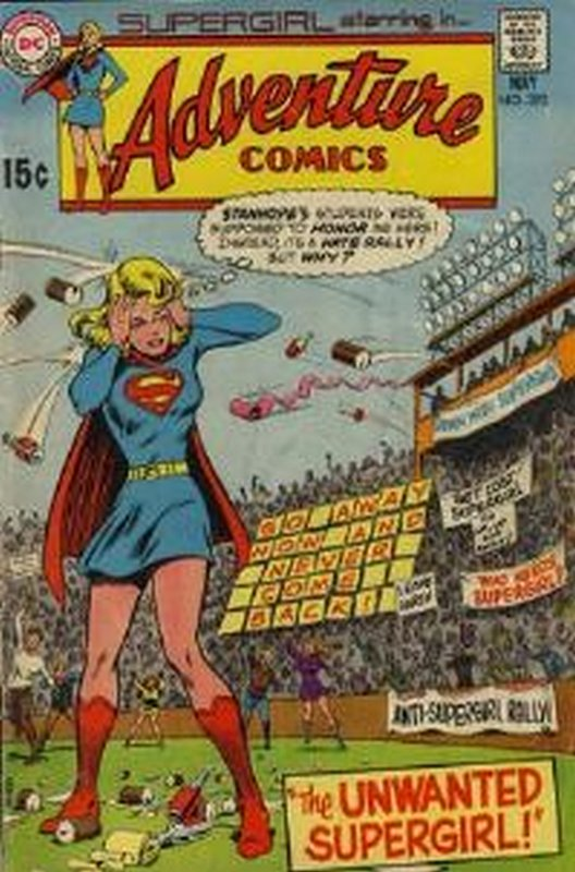 Cover of Adventure Comics (Vol 1) #393. One of 250,000 Vintage American Comics on sale from Krypton!