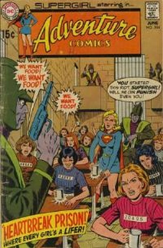 Cover of Adventure Comics (Vol 1) #394. One of 250,000 Vintage American Comics on sale from Krypton!