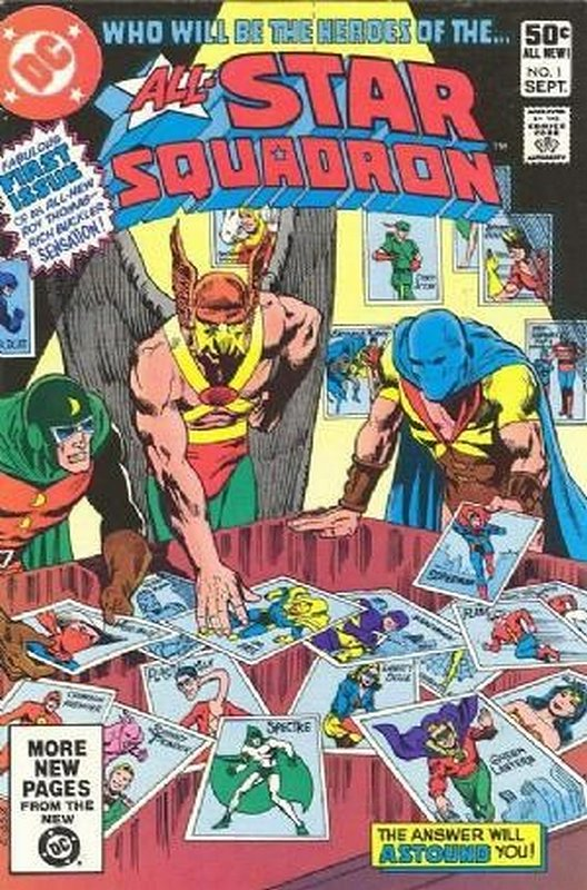 Cover of All-Star Squadron (Vol 1) #1. One of 250,000 Vintage American Comics on sale from Krypton!